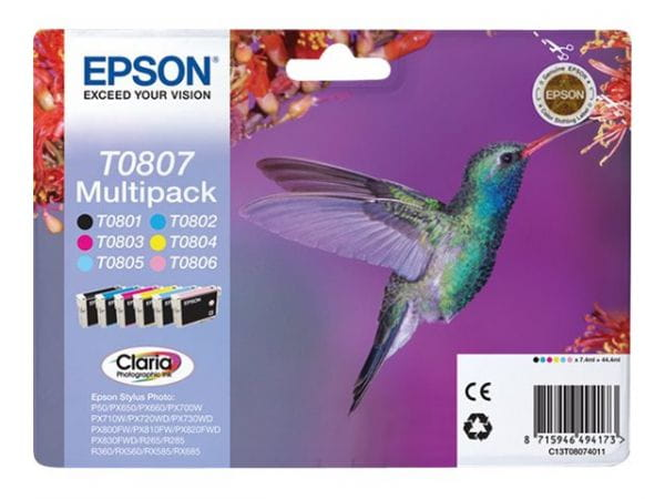 Epson Tintenpatronen C13T08074011 2