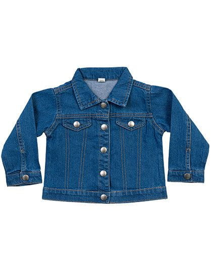 Baby Rocks Denim Jacket Denim Blue