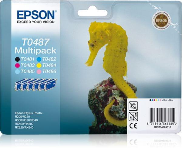 Epson Tintenpatronen C13T04874010 5