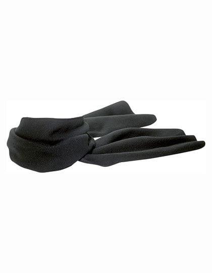 Fleece Schal Scarp Black
