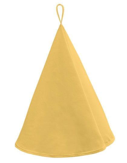 Round Kitchen Towel Canvas Brilliant Yellow (Yellow)