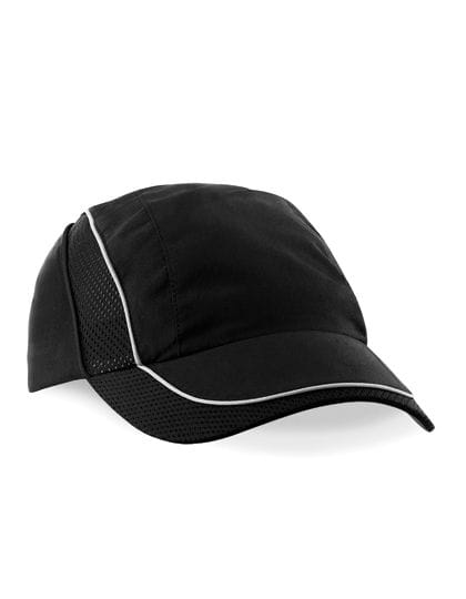 Coolmax® Flow Mesh Cap Black