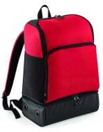 Hardbase Sports Backpack Classic Red / Black