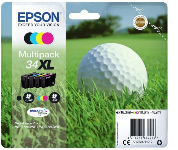 Epson Tintenpatronen C13T34764010 2