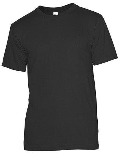 Unisex Organic Fine Jersey Short Sleeve T-Shirt Black