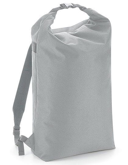 Icon Roll-Top Backpack Light Grey