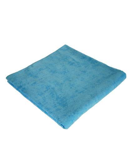 Velour Beach Towel Baby Blue (Light Blue)