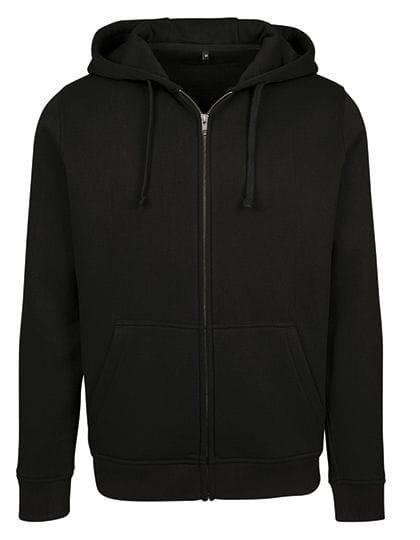 Merch Zip Hoody Black