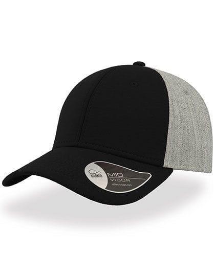 Contest Cap Black / Grey Melange