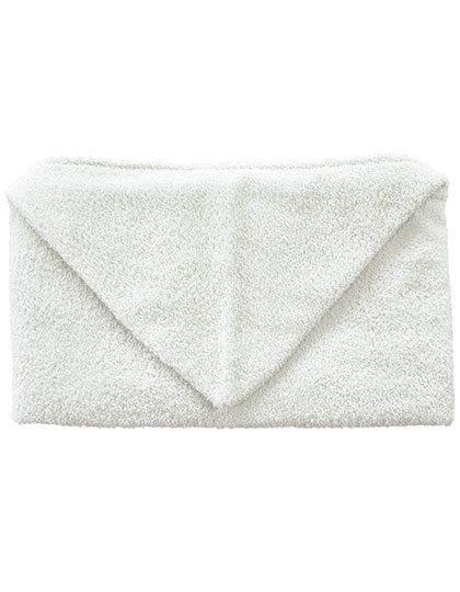 Kids Hooded Towel 360 g/m² White