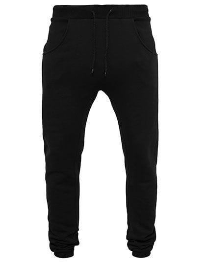 Heavy Deep Crotch Sweatpants Black
