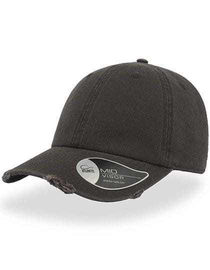 Dad Hat Destroyed Dark Grey