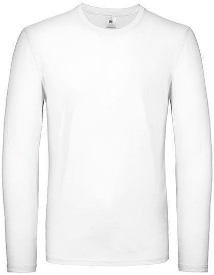 T-Shirt #E150 Long Sleeve / Unisex White