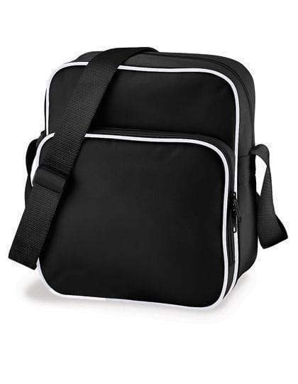 Retro Day Bag Black / White