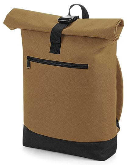 Roll-Top Backpack Caramel