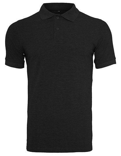 Polo Piqué Shirt Black
