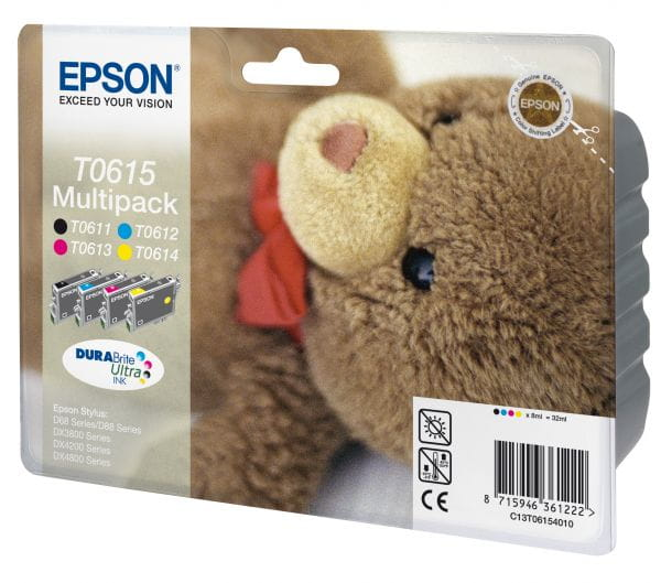Epson Tintenpatronen C13T06154010 3
