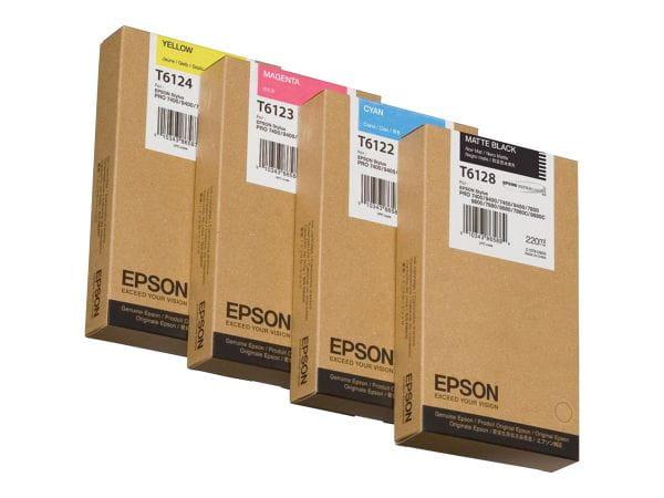 Epson Tintenpatronen C13T612400 1