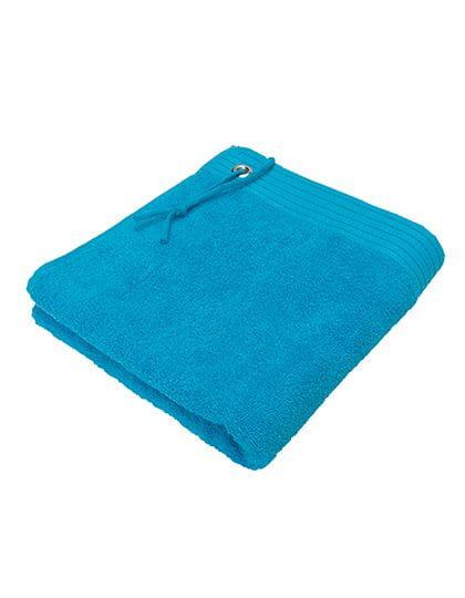 Premium Sport Guest Towel Acqua (Aqua)