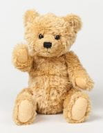 Classic Jointed Teddy Bear Brown