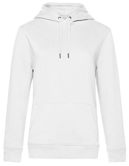 QUEEN Hooded Sweat /Women White
