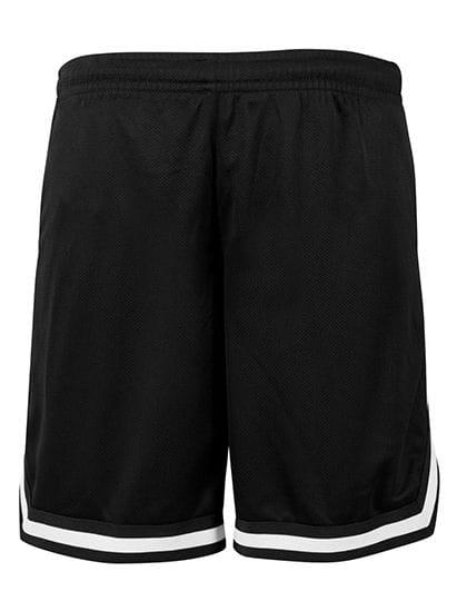 Two-tone Mesh Shorts Black / Black / White