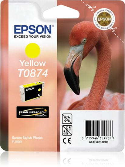 Epson Tintenpatronen C13T08744010 3