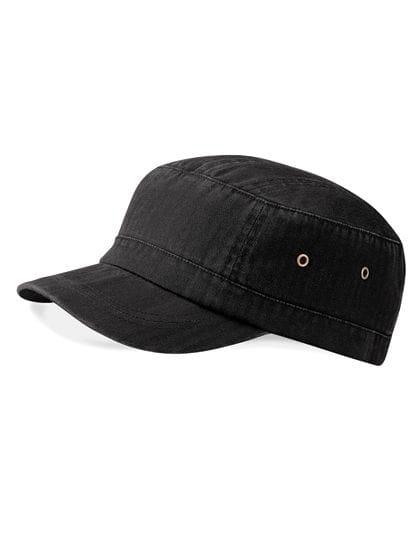 Urban Army Cap Vintage Black