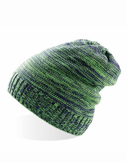 Scratch - Knitted Beanie Green / Navy