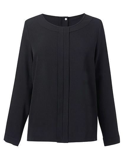 Women`s Roma Long Sleeve Blouse Black
