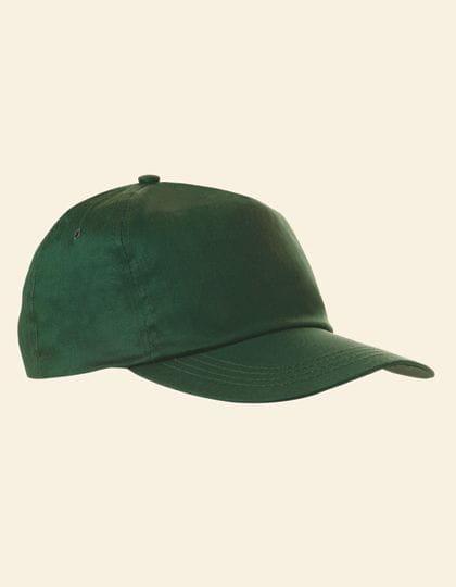 Baumwollcap Dark Green