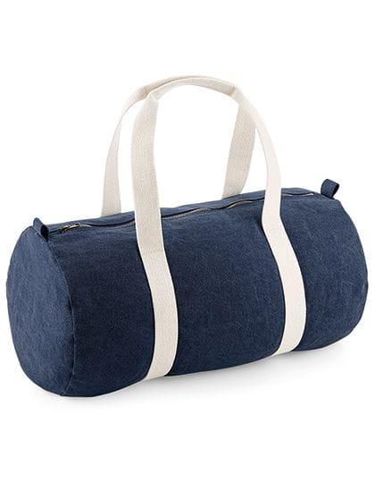 Denim Barrel Bag Denim Blue