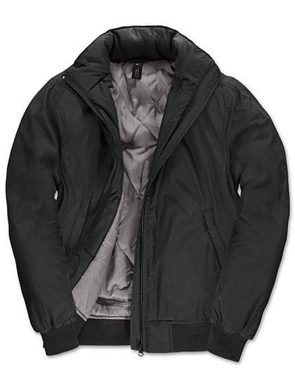 Jacket Crew Bomber /Women Black / Warm Grey