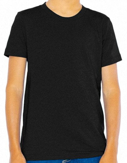 Youth Fine Jersey Short Sleeve T-Shirt Black