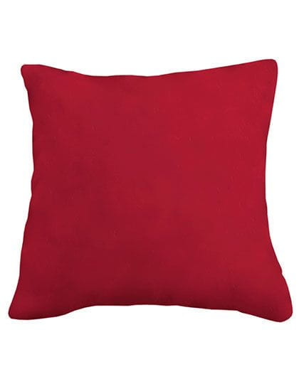 Coral Fleece Cushion Cover 40 x 40 cm Jester Red