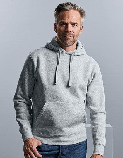 Men´s Authentic Hooded Sweat - Modern Style - Russell