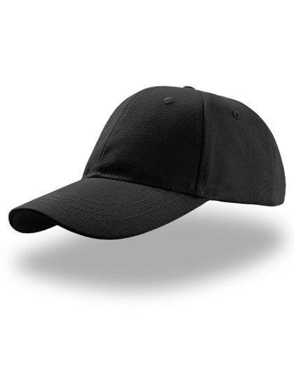 Liberty Six Buckle Cap Black