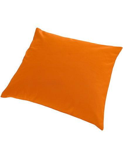 Cushion Cover Canvas With Zip 50 x 50 cm Sunny Orange (Orange)