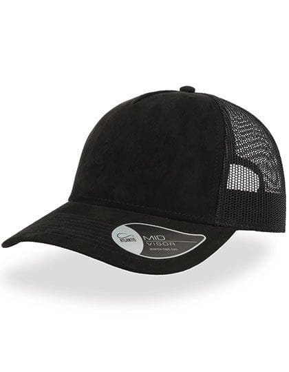 Rapper Suede Cap Black