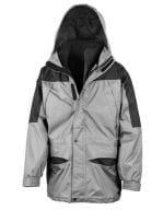Alaska 3-in-1 Jacket Grey / Black