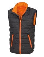 Core Junior Bodywarmer Black / Orange