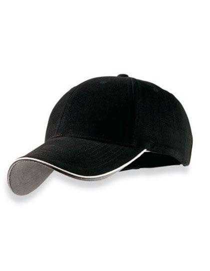 Pilot Piping Sandwich Cap Black / White / Grey