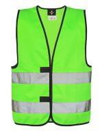 Safety Vest for children EN1150 Neon Green