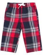 Baby Tartan Trousers Red-Navy Check