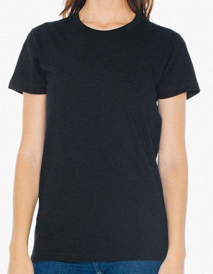 Women`s Fine Jersey T-Shirt Black