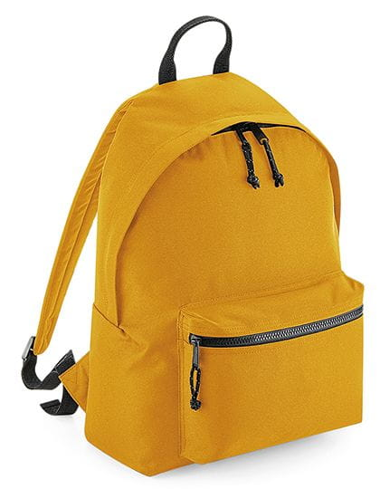 Recycled Backpack Mustard