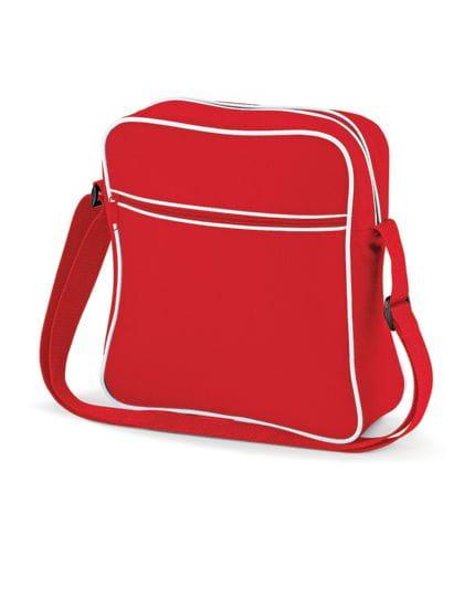 Retro Flight Bag Classic Red / White