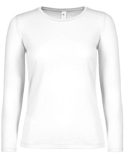 T-Shirt #E150 Long Sleeve / Women White
