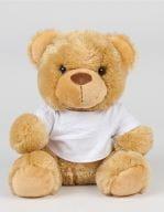 Bear in a T-Shirt Brown