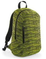 Duo Knit Backpack Electric Yellow / Black